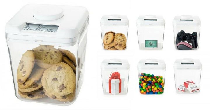 Une boîte à cookies connectée