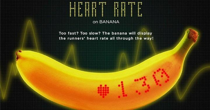 La banane connectée