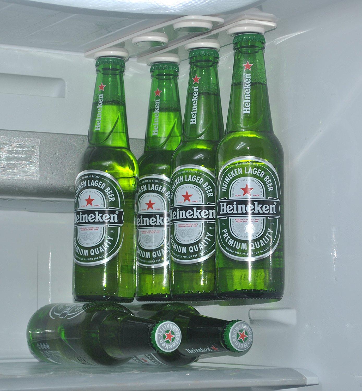7. Porte-bière magnétique dans votre réfrigérateur
