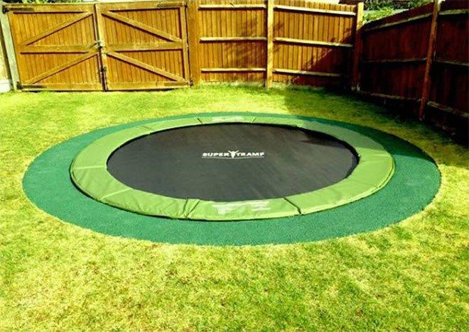 Le trampoline le plus sûr pour les enfants