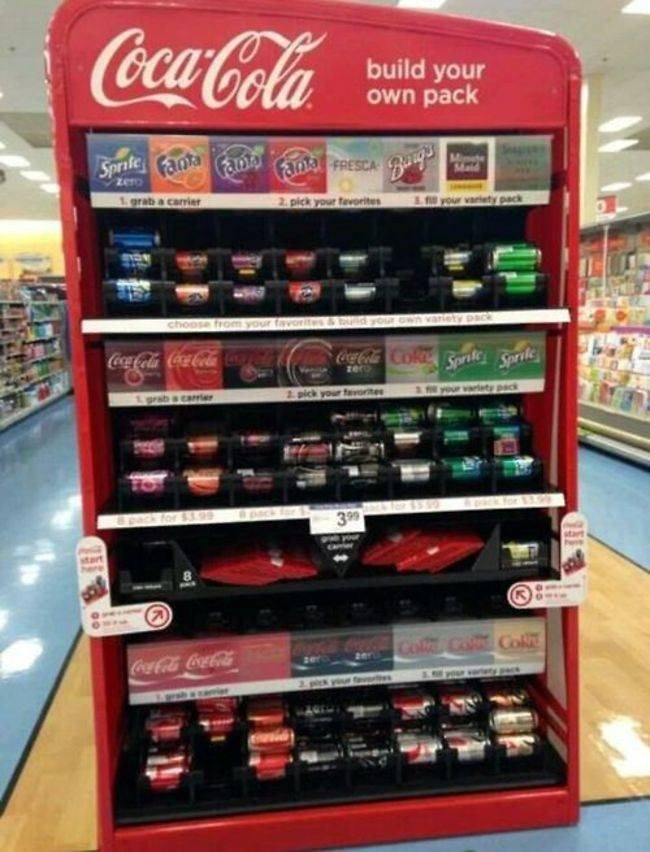 Le distributeur automatique de boissons qui fait plaisir à tout le monde