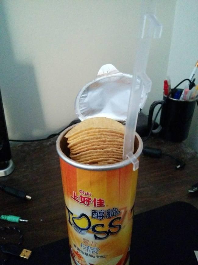 Un accessoire ingénieux pour les amoureux de chips