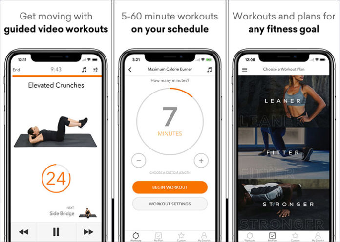 Sworkit (Android / iOS)