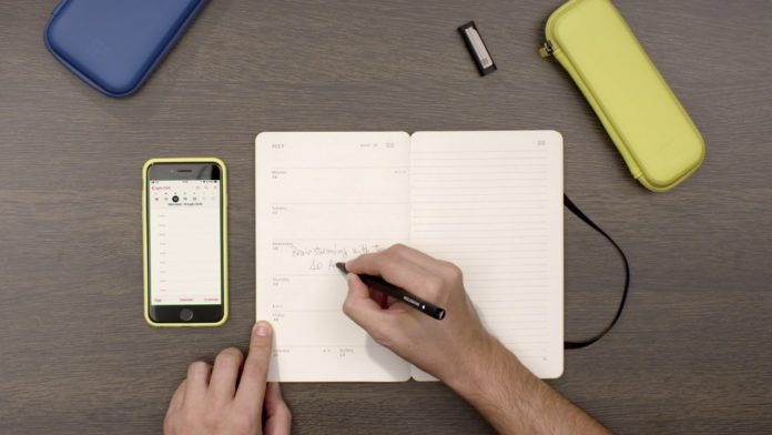 Moleskine Pen et Ellipse Smart Pen
